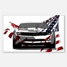 Camaro Rectangle Sticker 10 pk)