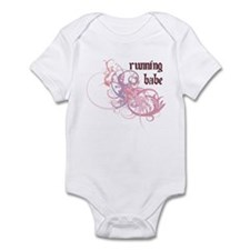 Running Babe Infant Bodysuit