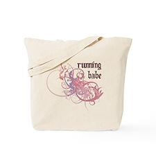 Running Babe Tote Bag