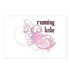 Running Babe Postcards (Package of 8)