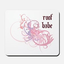 Roof Babe Mousepad