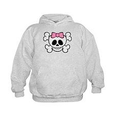 Ha-Ha Skull Girl Hoodie