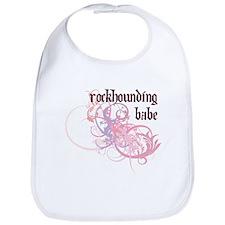 Rockhounding Babe Bib