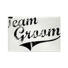 Team Groom Rectangle Magnet