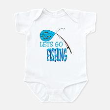 Lets Go Fishing Infant Bodysuit