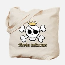Funny Pirate Princess Tote Bag