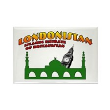 Londonistan Rectangle Magnet