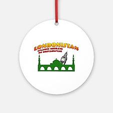 Londonistan Ornament (Round)