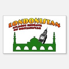 Londonistan Rectangle Decal