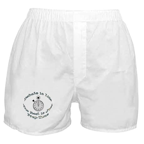 Debate is Life Boxer Shorts