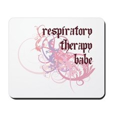 Respiratory Therapy Babe Mousepad