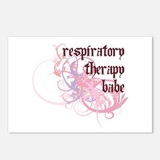 Respiratory Therapy Babe Postcards (Package of 8)