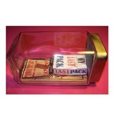 MY LAST PACK of CIGARETTES Postcards (Package of 8
