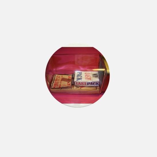 MY LAST PACK of CIGARETTES Mini Button