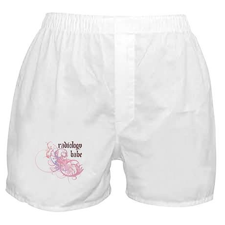 Radiology Babe Boxer Shorts