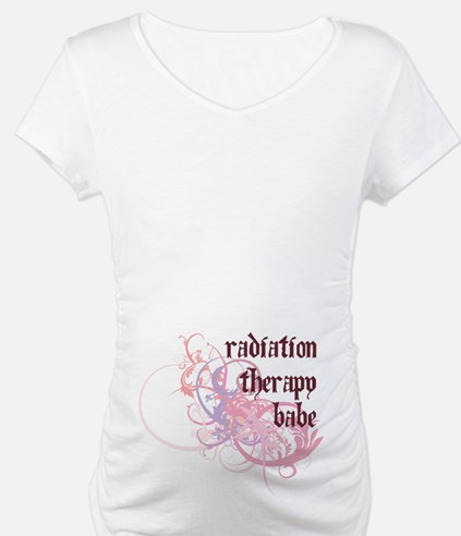 Radiation Therapy Babe Shirt