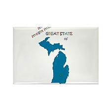 Michigan gift Rectangle Magnet
