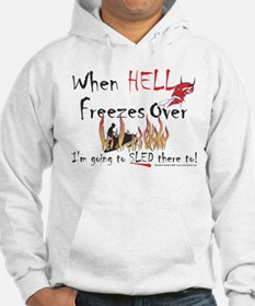 When Hell freezes Hoodie