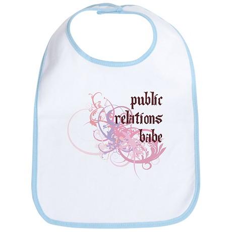 Public Relations Babe Bib