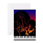 Piano Singer  Trumpet and Bass Price $15.00 Greeti