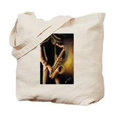 Unique The jazz singer Tote Bag