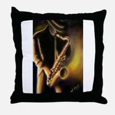 Cute Jazz Throw Pillow