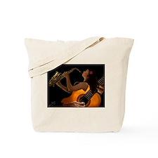 Unique Jazz blues Tote Bag