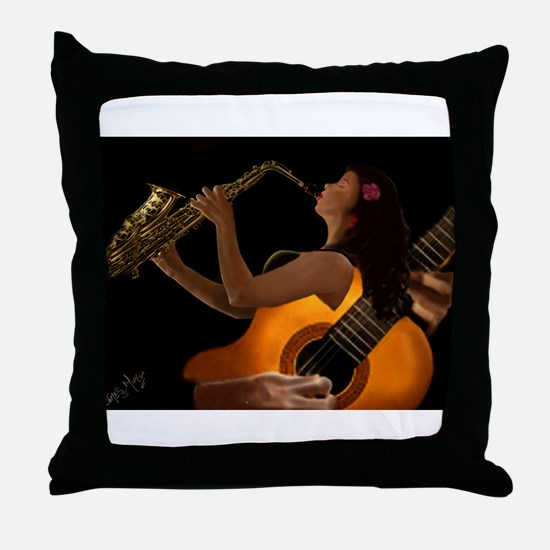 Digitalart Throw Pillow