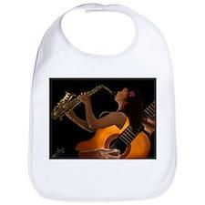 Unique Jazz blues Bib