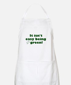 It isn't easy being green! BBQ Apron