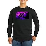Sax in Black Long Sleeve T-Shirt