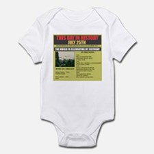 july 25-birthday Infant Bodysuit