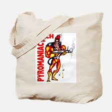 Zach the Pyromaniac Tote Bag