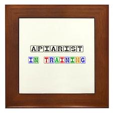 Apiarist In Training Framed Tile
