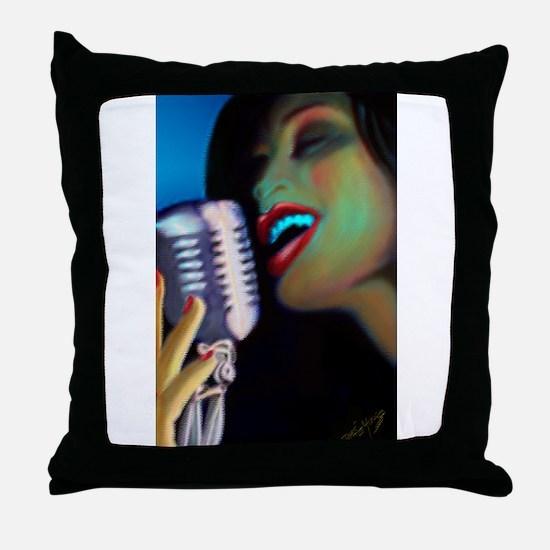 Funny Digitalart Throw Pillow