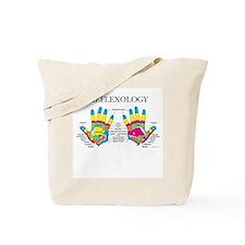 Custom Hand Reflexology Logo Tote Bag