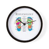 Reflexology Wall Clocks