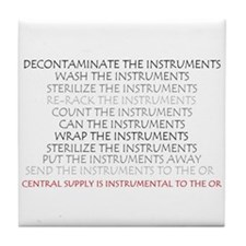 Instruments Tile Coaster