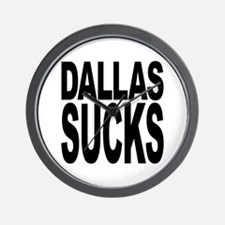 Dallas Sucks Wall Clock