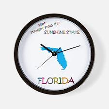Florida gift Wall Clock