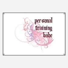 Personal Training Babe Banner