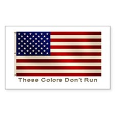 These Colors Don't Run Rectangle Decal