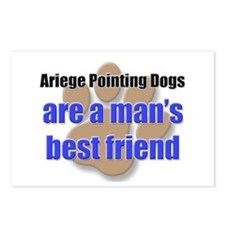 Ariege Pointing Dogs man's best friend Postcards (