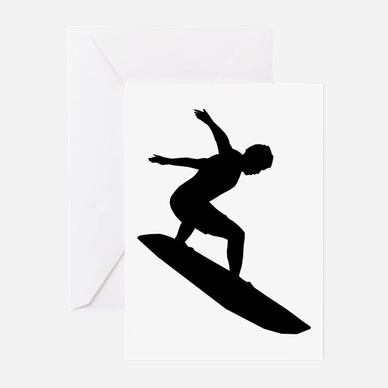 Surfing Greeting Cards (Pk of 10)
