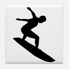 Surfing Tile Coaster