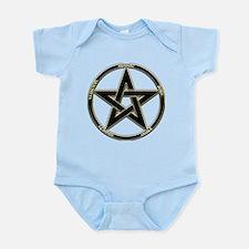 Earth, Air & Fire Pentagram Infant Bodysuit