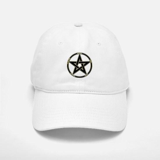 Earth, Air & Fire Pentagram Baseball Baseball Cap