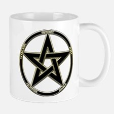 Earth, Air & Fire Pentagram Mug