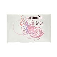 Paramedic Babe Rectangle Magnet