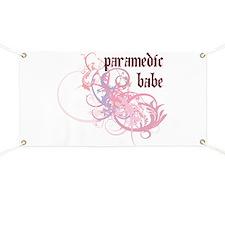 Paramedic Babe Banner